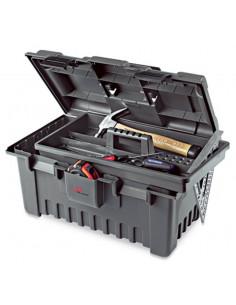 PLANO Boite à outils plastique 22'' 55cm + plateau