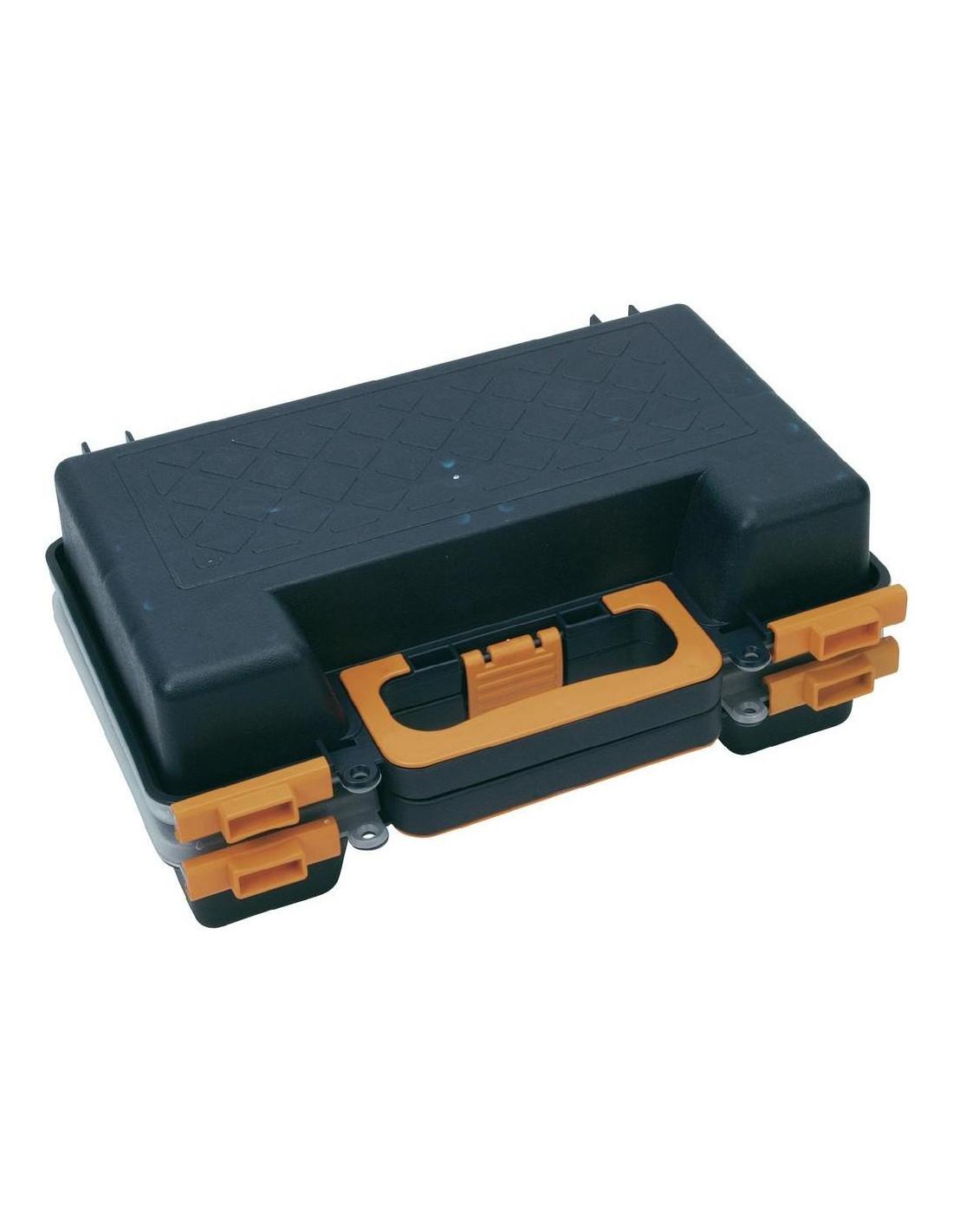 cogex malette de rangement double 16 cases hyper brico. Black Bedroom Furniture Sets. Home Design Ideas