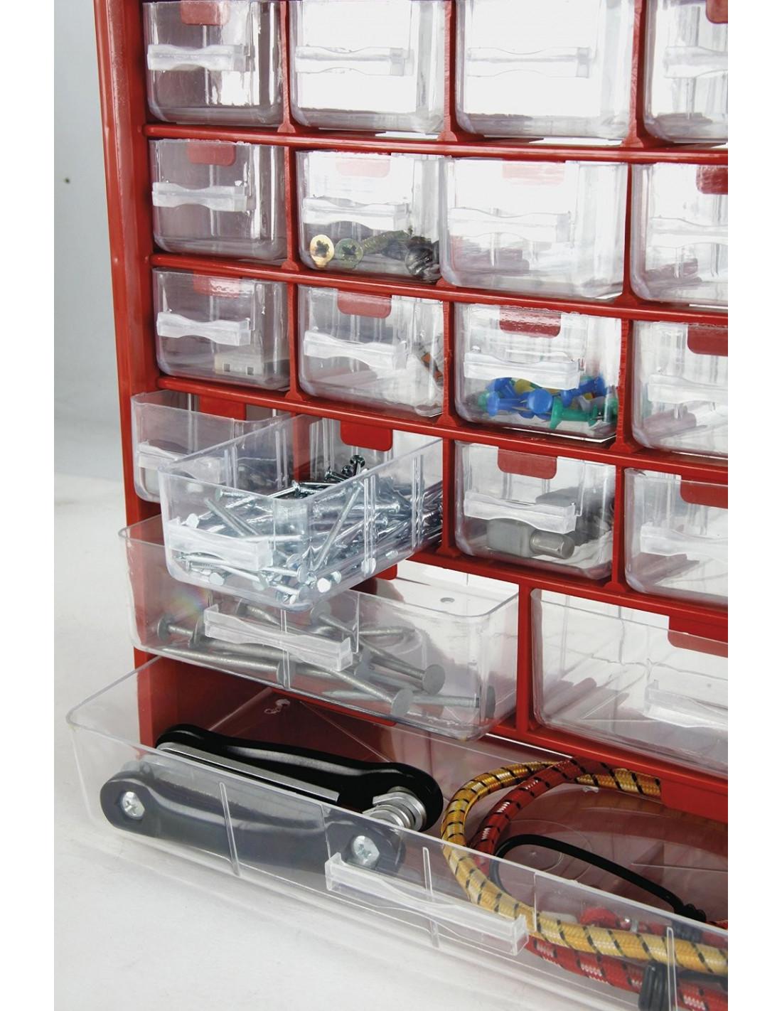 cogex casier rangement plastique 33 tiroirs 290 x 340 x. Black Bedroom Furniture Sets. Home Design Ideas