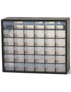 RAACO Casier de rangement 36 tiroirs pc36 330x407x141mm