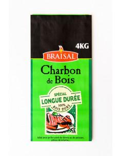 BRAISAL Charbon de bois longue durée 4kg
