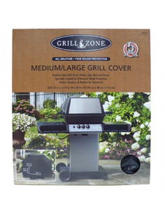 GRILL ZONE Bâche pour barbecue medium/large 152x53x127cm