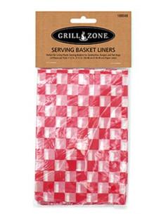 GRILL ZONE Serviette pour panier burger 30x30cm