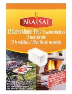BRAISAL Allume feu 32 cubes