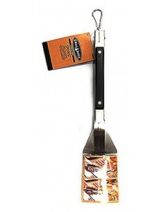 GRILL ZONE Spatule alu pour barbecue 48cm
