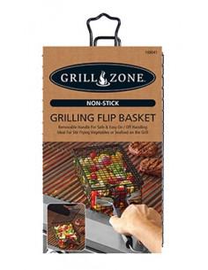 GRILL ZONE Panier pour barbecue 29cm