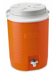 RUBBERMAID Glacière orange 8L 2gallon