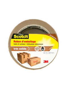 SCOTCH Ruban d'emballage marron 66m x 48mm