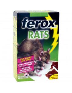 FEROX Appât blé entier rats 16x25g
