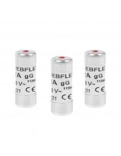 DEBFLEX 3 Fusibles avec voyant 10,3 x 25,8 16 A 250 V