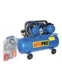 AITOPRO V-0.12/7 Compresseur 100L 2HP