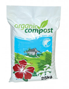 TECHNIVAL Compost organique sac 25 kg