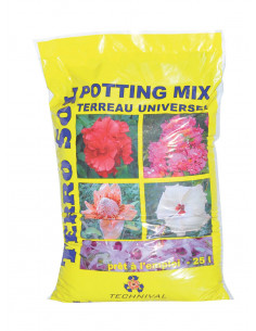 TECHNIVAL Terreau universel TERROSOL POTTING MIX 25 L