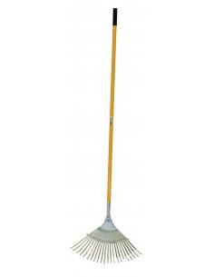 AITOPRO Balai gazon fil plat inox 1.78m