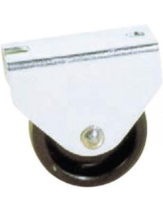 NORAIL Roulette à platine nylon fixe d30mm
