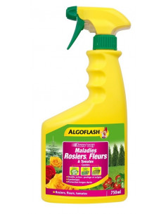ALGOFLASH Maladies Rosiers, Fleurs et Tomates 750ml