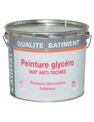 Peinture glycero mat blanc 10l hyper brico - Brico depot peinture glycero ...
