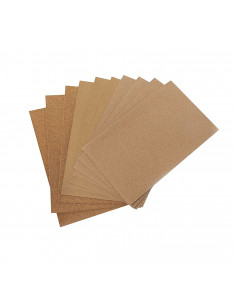 Papier abrasif grain assortiment 23x28