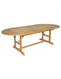 Table acacia 180x110x235 ovale