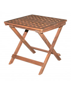 Table acacia 50x50x50 lattice4