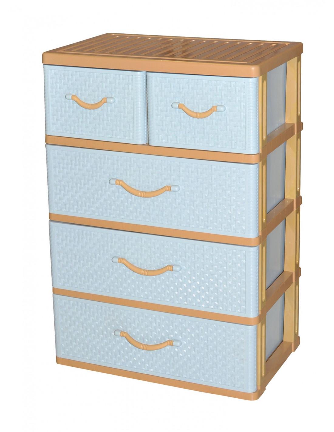 commode 5 tiroirs hyper brico. Black Bedroom Furniture Sets. Home Design Ideas