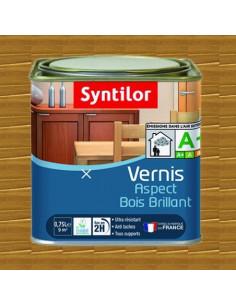 SYNTILOR Vernis aspect bois brillant chene moyen 0.75L
