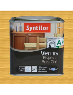 SYNTILOR Vernis aspect bois cire chene clair 0.75L