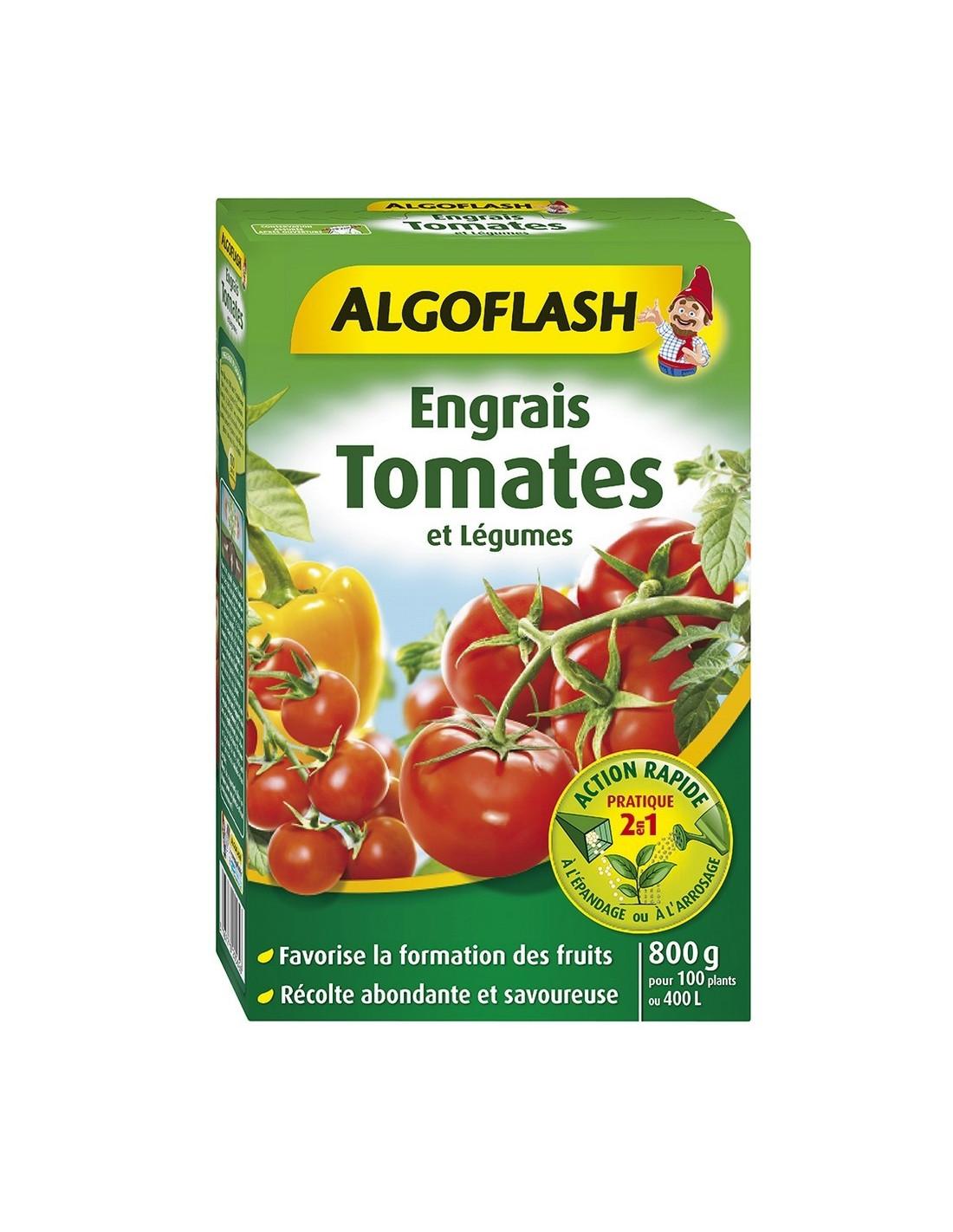 Algoflash Engrais Tomates Et Legumes Action Rapide 800 G