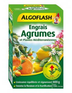 ALGOFLASH Engrais agrumes et plantes méditerranéennes action rapide 800g