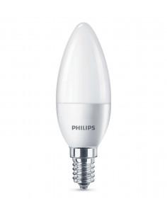 PHILIPS Ampoule LED Flamme 5,5W (40W) E14 blanc chaud Intensité invariable