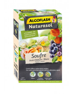 ALGOFLASH Souffre anti-oïdium 350g