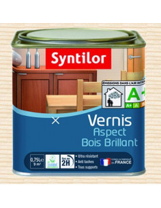 SYNTILOR Vernis abc aqua bllt 0.75l incolore