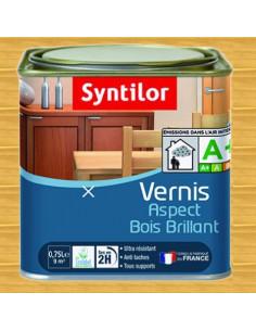 SYNTILOR Vernis aspect bois brillant chene clair 0.75L
