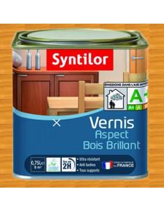 SYNTILOR Vernis aspect bois brillant chene dore 0.75L