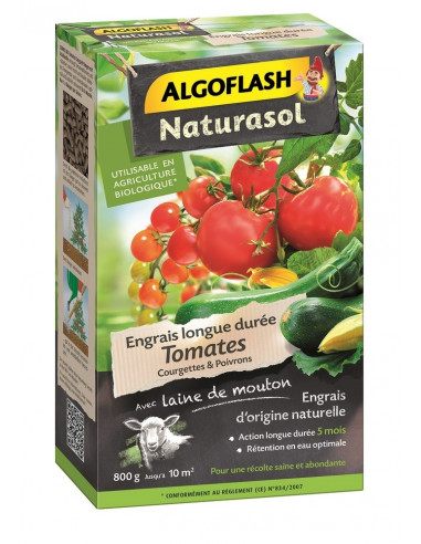 algoflash engrais tomates courgettes poivrons 800g hyper brico. Black Bedroom Furniture Sets. Home Design Ideas