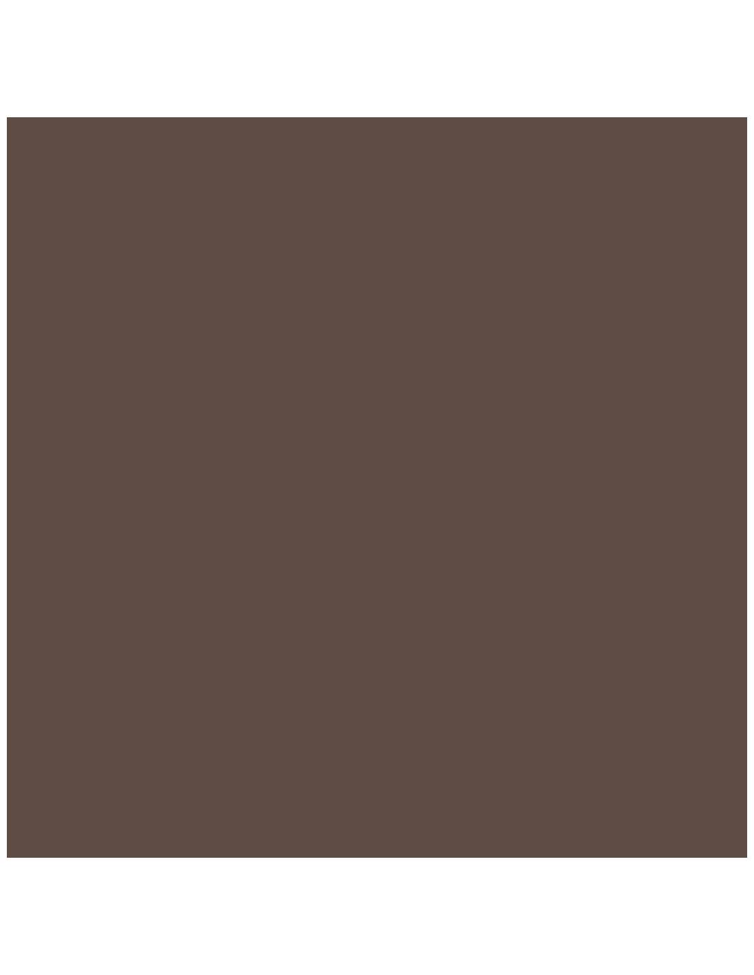 VALENTINE Peinture Crème de couleur wengé 0,5L