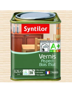 SYNTOLOR Vernis abc aqua mat 0.25L incolore