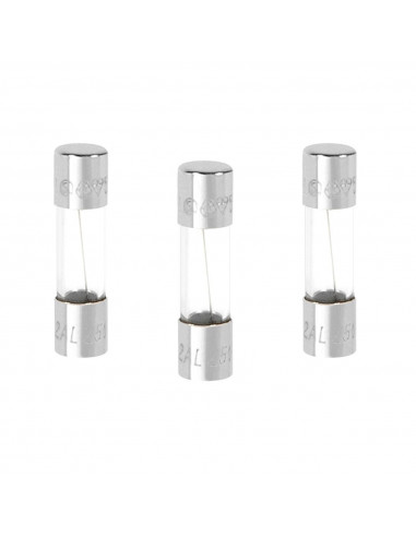 DEBFLEX Sachet de 3 fusibles verre a f