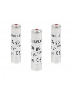 DEBFLEX 3 Fusibles avec voyant 8,5 x 31,5 20 A 380 V
