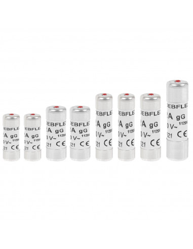 DEBFLEX Sachet de 8 fusibles avec voya