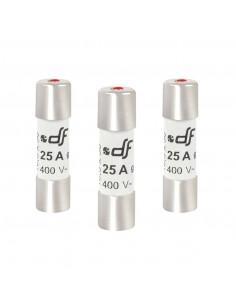 DEBFLEX 3 Fusibles avec voyant 10,3 x 38 25 A 380 V