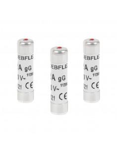 DEBFLEX 3 Fusibles avec voyant 8,5 x 31,5 16 A 380 V