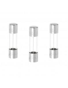 DEBFLEX 3 Fusibles verre 5 x 20 6 A 250 V