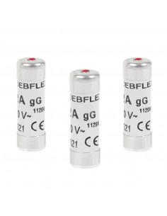 DEBFLEX 3 Fusibles avec voyant 10,3 x 31,5 16 A 380 V