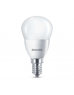 PHILIPS Ampoule LED Sphérique 5,5W (40W) E14 Blanc chaud Intensité invariable