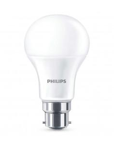 PHILIPS Ampoule LED 11W (75W) B22 Blanc chaud Intensité invariable