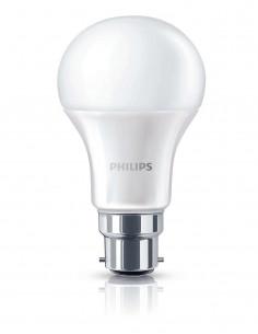 PHILIPS Ampoule LED 9W (60W) B22 Blanc chaud Intensité invariable