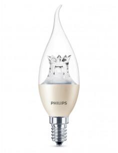 PHILIPS Ampoule LED Flamme 4W (25W) E14 Lumière chaleureuse Intensité variable