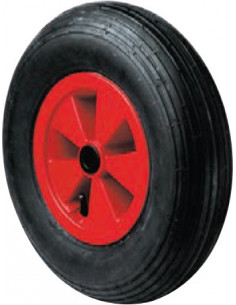 NORAIL Roue brouette gonflable nylon d400mm