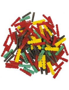 COGEX Assortiment chevilles plastiques 120pcs